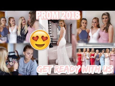 GET READY WITH US: PROM 2018 | Lucy Flight