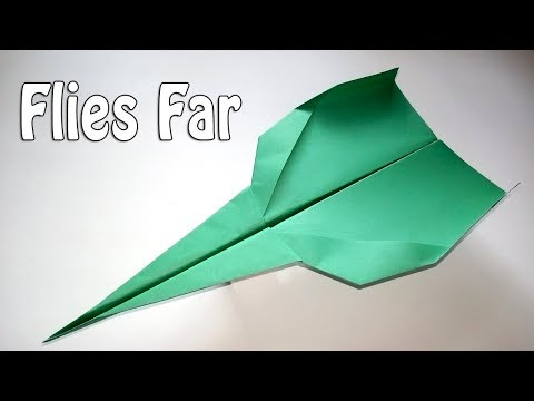 How To Make a Paper Airplane That Flies 100,000 Feet