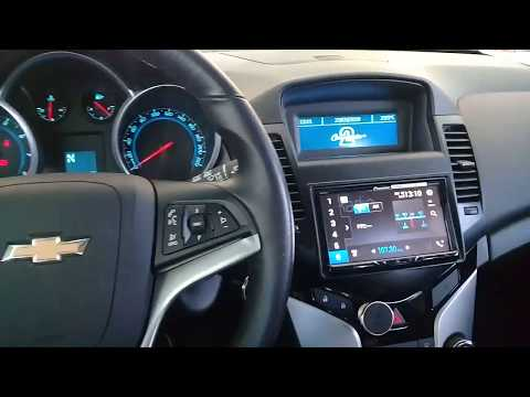 Chevrolet Cruze 2015 - Pioneer Com CarPlay + Android Auto + DVD + TV