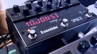 Eventide Space favorite sounds