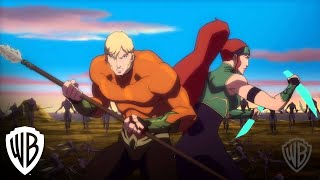 Justice League: Throne of Atlantis:Trencher Fight