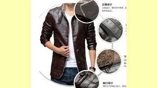 Winter leather jackets Men Fashion