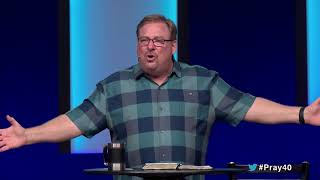 How To Pray For Healing And Restoration with Rick Warren