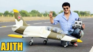 Ajith - The only actor in India having pilot license | Hot Tamil Cinema News