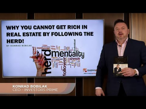 WHY YOU CANNOT GET RICH IN AUSTRALIAN REAL ESTATE BY FOLLOWING THE HERD! By Konrad Bobilak