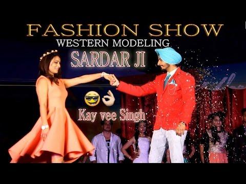 Fashion Show | Western Modeling (Ethnic Wear) | Kay vee Singh Global Institutes Udaan 2k17