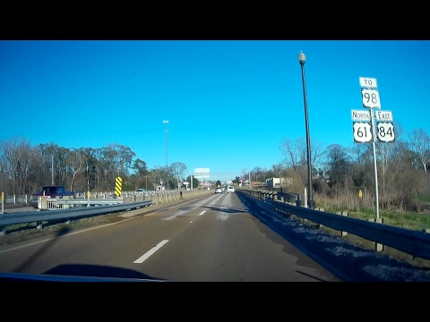 Road Trip #100 - US-61 North - Kingston Rd, Natchez to US-84