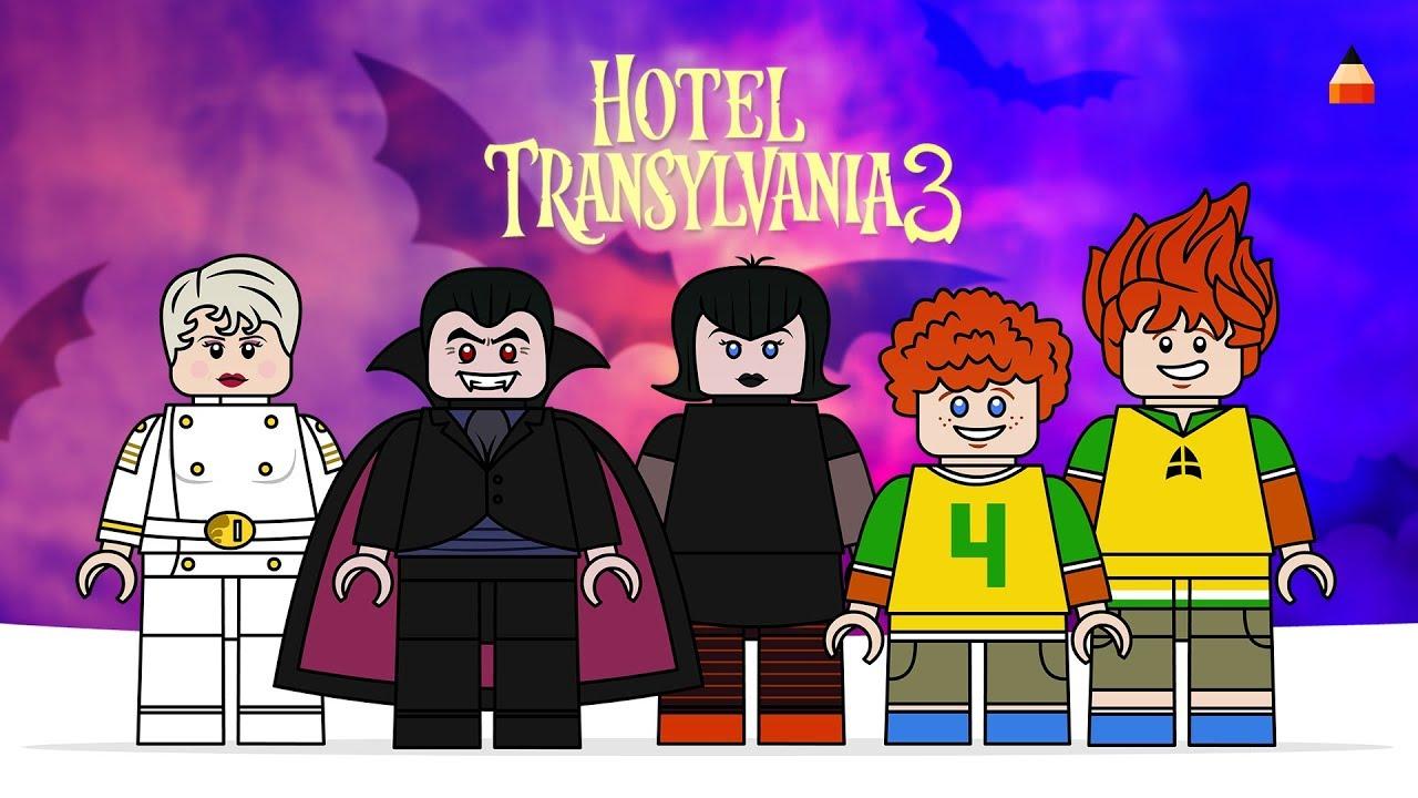 Hotel Transylvania 3 Summer Vacation Drawing Lego