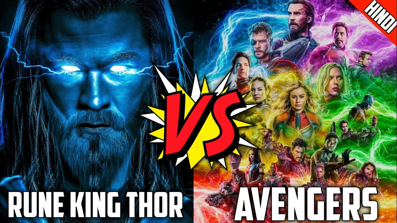 Download Rune King Thor Vs All Avengers Part 1 In Hindi ! Anime King