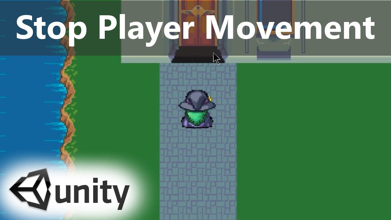 How To Stop Character Movement With C Scripting Unity 5