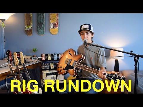 My Guitar Rig Rundown And Meeting Tony Hawk!