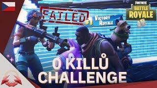 0 Killů challenge w/ J1NYS - Fortnite Battle Royale CZ