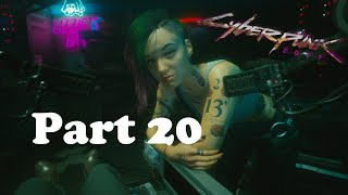 Cyberpunk 2077 gameplay on the highest difficulty Part 20 Cleaning up the question marks