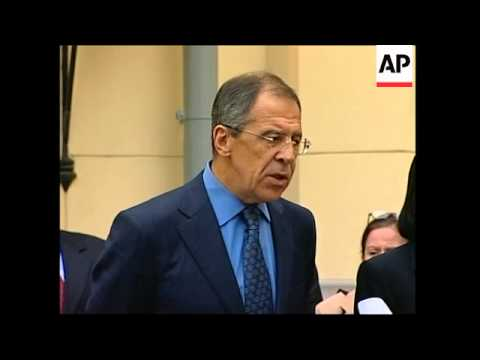 US Sec of State meets Russian FM Lavrov, Iran comments