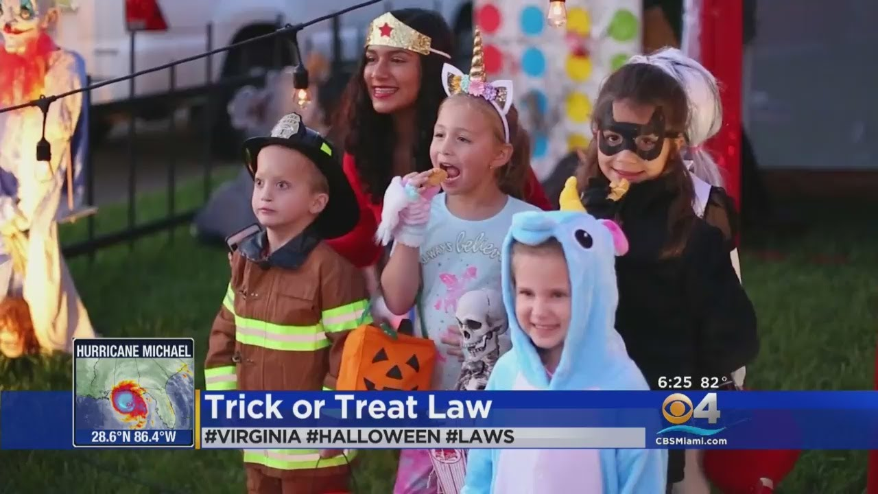 Virginia Halloween Laws 2020 Trending: Virginia City Puts Age Limit On Trick Or Treating   YouTube
