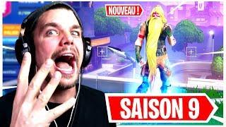LES MEILLEURS NOUVEAU SKIN DE LA SAISON 9 de FORTNITE !! (Passe de Combat)