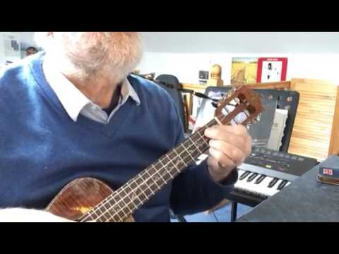 Let's Face The Music And Dance - solo ukulele - Colin Tribe on LEHO