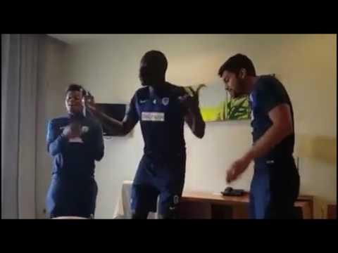 VIDEO: Mastaa wa KRC Genk wakicheza 'Muziki' ya Darassa wakiwa Hispania