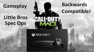 COD Modern Warfare 3 Back Compat Xbox One X gameplay Little Bros Spec Ops