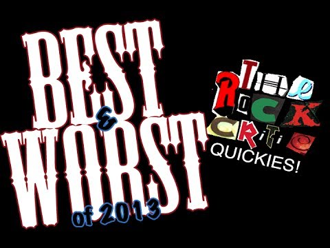 QUICKIES!: BEST and WORST albums of 2013!