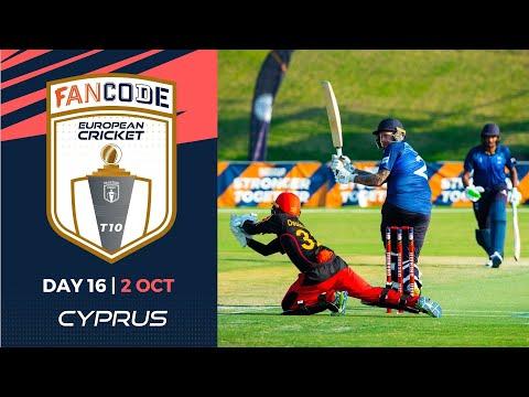 🔴 FanCode European Cricket T10 Cyprus,  Limassol | Day 16 T10 Live Cricket