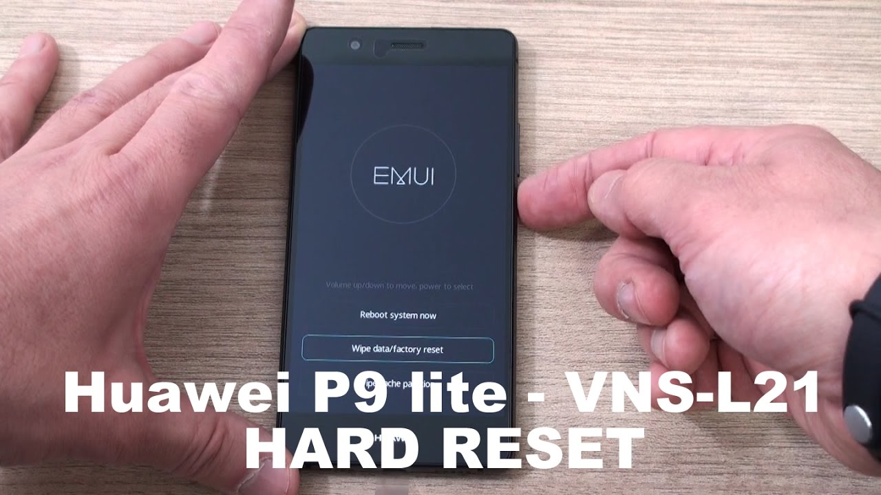 Huawei P9 Lite Vns L21 Hard Reset Youtube