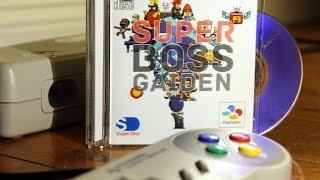 Super Boss Gaiden SNES CD Homebrew Game - #CUPodcast