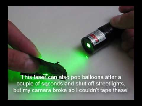 30mW 2x AA Green Laser from FocalPrice (Only $15!)