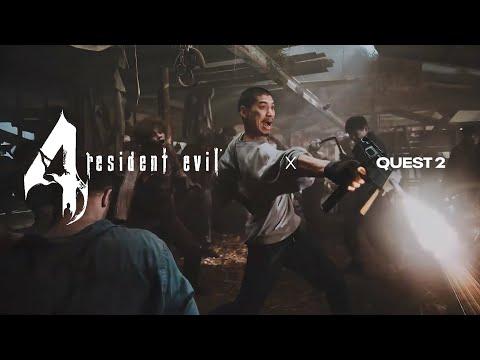 Resident Evil 4 VR - Official Japan Trailer