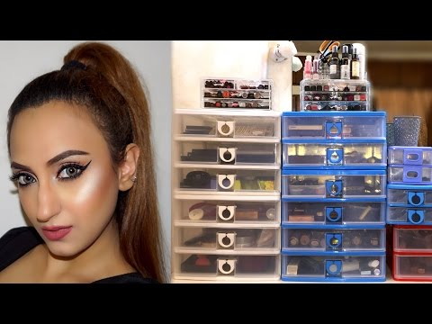 Makeup Collection & Storage 2016 | Aishwarya Kaushal