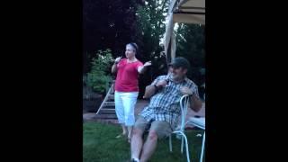 Guy and Shelly karaoke