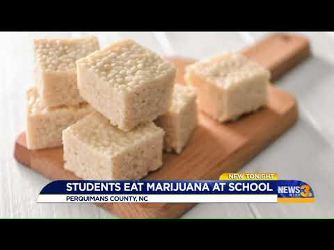 Perquimans County students became sick after eating marijuana edibles