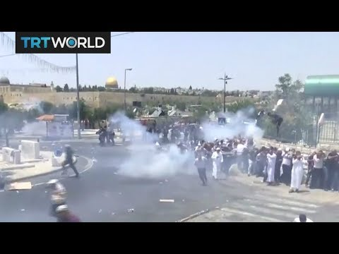Israeli forces fire at protesters in West Bank