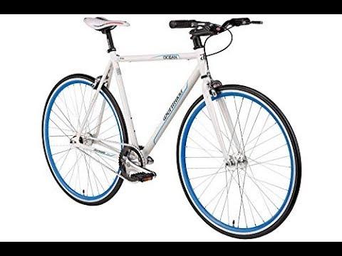 pretty nice 5d375 6b946 Unboxing & Review Bikes4Less 28'' Fixie Singlespeed Fahrrad Fixed Gear  Bermuda Ocean