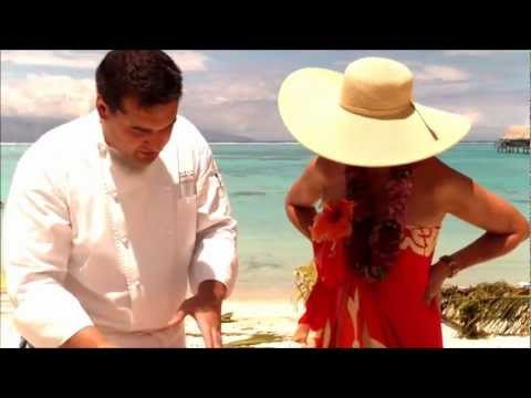 Tahitian Raw Fish Recipe, Executive Chef Pierre Sudre -- Sophie Gayot of GAYOT.com