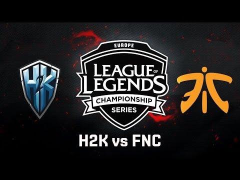 FNC vs. H2K | Third Place | EU LCS Summer Split - Game 5 | Fnatic vs. H2K (2017)