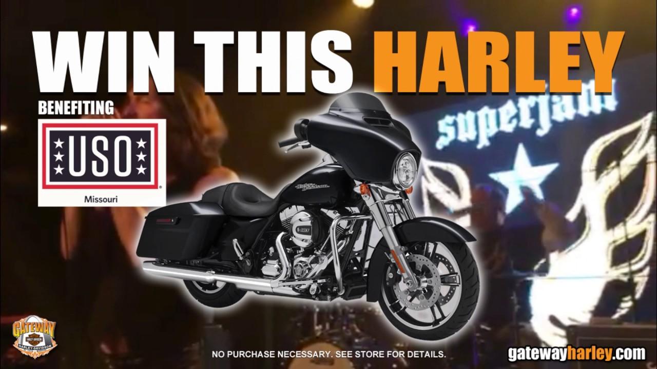 Gateway Harley Davidson USO of Missouri Street Glide Giveaway Party