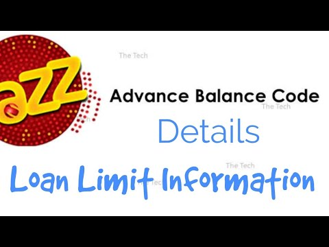 Jazz Advance Code and Loan Details - YouTube