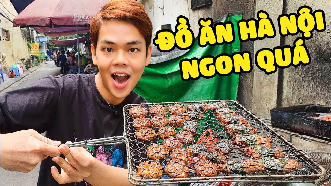 Em trai dẫn Chuối khám phá ẩm thực Hà Nội (Oops Banana)