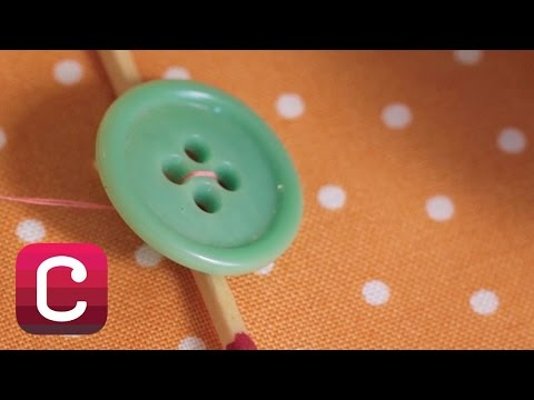 How to Sew a Button with Liesl Gibson | Creativebug