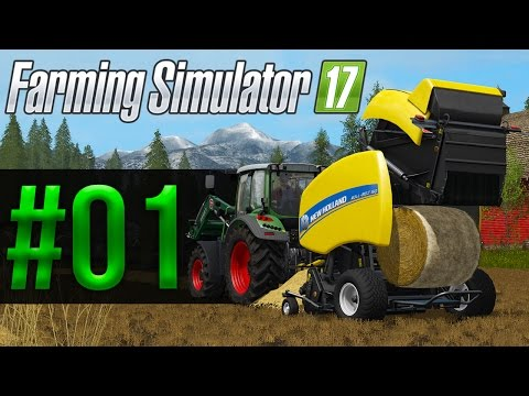 Farming Simulator 17 | Carrière Suivie | Episode 1 | Une intro rôleplay ?