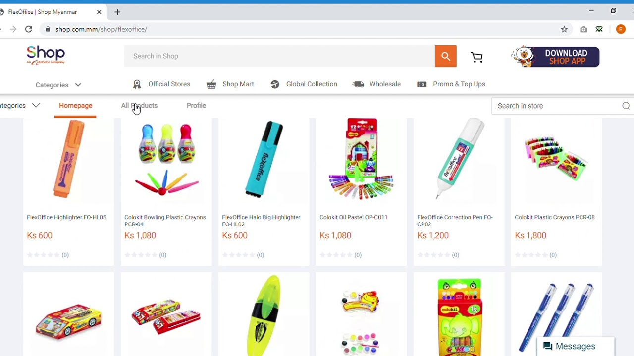 Online shopping Myanmar for Mobiles. Electronics. Clothes Shop com mm Google Chrome 2019 11 19 1 - YouTube