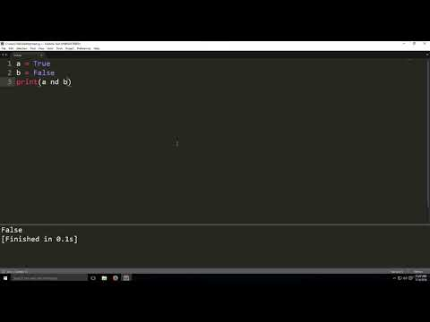 Logical Operators and Conditional Statements in python-Programming tutorial thumbnail