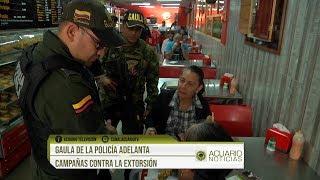 Gaula de la Policía adelanta campañas contra la extorsión