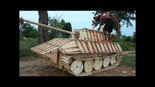 Примитивные технологии Деревянный танк