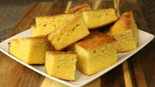 Delicious Homemade Cornbread - Easy Recipes - Side Dishes