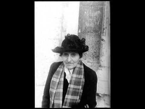 To the Memory of Alice B Toklas