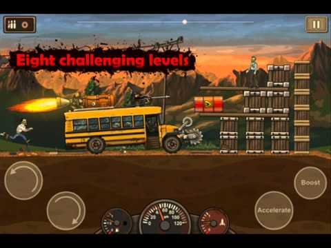 Earn to Die 2 Music Garage Theme Hard Rock Blues with Guitar Solo