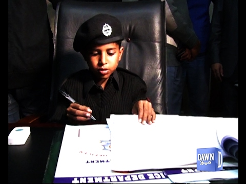 Little Chief Traffic Officer in Islamabad