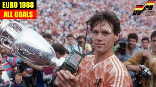 UEFA Euro 1988 in West Germany All Goals